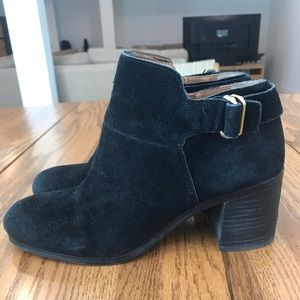 Black Booties by Franco Sarto